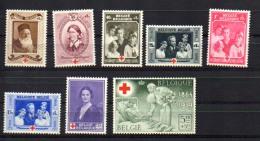 Belgique 1939, Croix-Rouge Internationale, 496 / 503*, Cote 14 €, - Red Cross