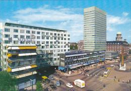 The Liberty Obelisk and Royal Hotel Copenhagen Denmark