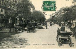 CPA 75 PARIS BOULEVARD BONNE NOUVELLE 1912  2 Eme ARROND. - Arrondissement: 02