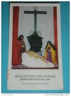 Gesù Deposto Dalla Croce ADDOLORATA S.GIOVANNI MARIA MADDALENA - Chiesa Dei Dolori CAMAIORE,Lucca/ Statue XVII° - Santini
