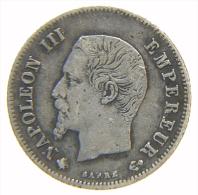 FRANCIA FRANCE 20 Centimes 1860 BB - E. 20 Centesimi