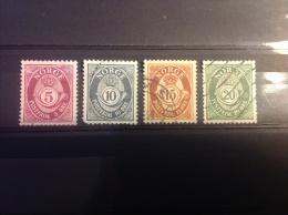 Noorwegen - Complete Serie Posthoorn 1969 - Gebruikt