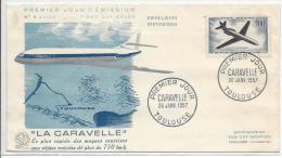 Premier Jour, La Caravelle - FDC