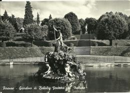 FIRENZE  Fontana Al Nettuno  Giardino Di Boboli  Fg - Edificio & Architettura