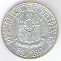 FILIPPINE 25 PISO 1981 AG SILVER - Filippine