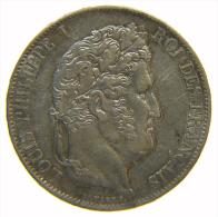 FRANCIA FRANCE 5 FRANCS 1846 A LOUIS PHILIPPE - J. 5 Francs