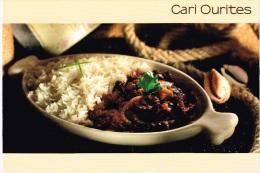 Carte Postale  - Ile Maurice - Cari Ourites - - Recipes (cooking)