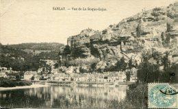 CPA - SARLAT - VUE DE LA ROQUE-GAJAC (1906) - Sarlat La Caneda