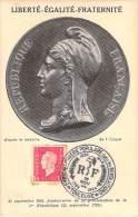 FRANCE CARTE MAXIMUM  NUM.YVERT  691  MARIANNE - Cartoline Maximum