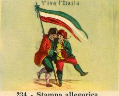 CENTENARIO DELL´UNITA´ D´ITALIA  FIGURINA NR. 234 - Adesivi