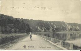Waulsort -- La  Meuse  à  La  Gare.   (2 Scans) - Hastière