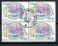 398 TP - FRANCE 1994 - BLOC DE 4 TIMBRES - N° Y&T 2885 - MARTIGUES - Frankreich