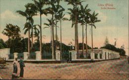 LIMA JARDIN BOTANICO PERU' 1929