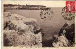 1345 Postal Royan 1934 Charente Francia. Taxa. Taxe