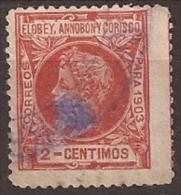 Elobey, Annobon Y Corisco, Rojo - Elobey, Annobon & Corisco