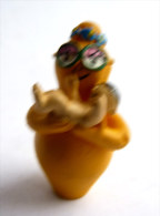 Figurine BARBAPAPA Barbotine PLASTOY 2006 - ORANGE - - Other