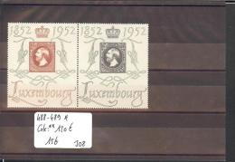 LUXEMBOURG  - No Michel 488-489  * ( AVEC CHARNIERE )    -  Cote **: 120 € - Luxembourg