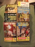 Lot 7 Livres Marabout Junior Henri Vernes Aventures De Bob Morane - Marabout Junior