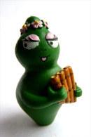 Figurine BARBAPAPA BABALALA PLASTOY 2003 - VERT - Autres