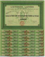 L'Auvergne Laitiere à Aurillac - Agriculture