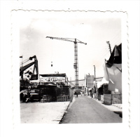 Maroc - Casablanca - Photo Originale - Exposition De Matériel De Travaux Publics - Format 6 X 6 Cm (Lyon) - Afrique