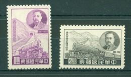 Taiwan - 1961 Birthday Of Jeme Tien-yow__(TH-8866) - 1945-... Republic Of China