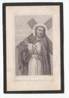 Décès Henriette FLORIN Rentière Veuve De Charles Ducatillon Née Blandain Décédée Hertain 1861- Dopter - Images Religieuses