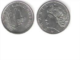 Brazil 1 Centavo  1975 F.A.O  Km 585  Bu !!!!!!! - Brésil