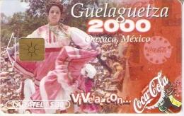 TARJETA DE MEXICO DE COCA-COLA (COKE) - Publicidad