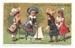 CHROMO - CHOCOLAT GUERIN BOUTRON - Un Jeune Amiral - Guerin Boutron