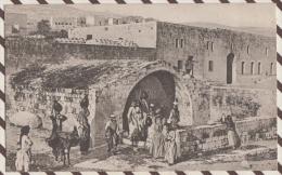 4AF67 NAZARETH LA FONTAINE DE LA VIERGE 2 SCANS - Israël
