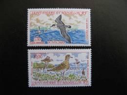 Saint Pierre Et Miquelon: TB Paire PA N°72 Et 73, Neufs XX. - Poste Aérienne