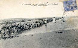 Plage De La Brée Les Bains à Marée Basse - Rentrée De Pêche - France