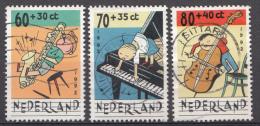 PAYS-BAS Mi.nr.: 1451-1453 Für Das Kind 1992  Oblitérés - Used - Gebruikt - 1980-... (Beatrix)