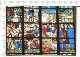 ROUEN -   Eglise Sainte Jeanne D Arc -  Vitrail  -  Martyre De Saint Vincent ( Détail ) -   St Vincent écrasé - Rouen