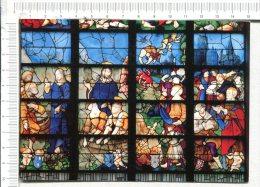 ROUEN -   Eglise Sainte Jeanne D Arc -  Vitrail  -  Vie De Saint Pierre  (détail) Début XVIè S. - Vocation De St Pierre - Rouen