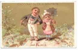 CHROMO - Chocolat GUERIN  BOUTRON - Sur La Route - Guerin Boutron