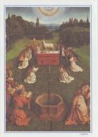 PGR-19-G : Jan VAN EYCK : ## Het Lam Gods (détail) ## : ART,PAINTING,ANGELS,LAMB, AGNEAU,ALTAR,AUTEL, - Religione