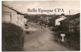 88 - MENIL-sur-BELVITTE - Carte PHOTO +++ Panneau Du Cimetière Militaire ++ Vers Paris, 1954 +++ RARE / Pas Sur Delcampe - Francia
