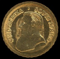 South Africa Mini Gold Coin - 1 Krugerrand 1978 - South Africa