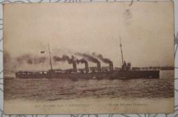 CPA Photo Noir Et Blanc Diedenhofen N°952 Croiseur Léger Le Thionville - Thionville
