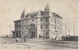 Algiers Algeria, Le Kursaal Architecture, C1900s/1910s Vintage Postcard - Algeri