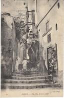 Algiers Algeria, Rue Du Casbah Narrow Street Scene, C1900s/10s Vintage Postcard - Algeri
