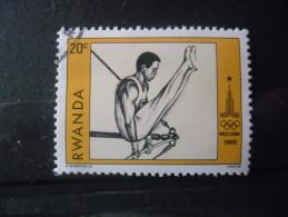 RWANDA N°933 Oblitéré - Rwanda