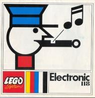 LEGO SYSTEM - ELECTRONIC 118 -  CATALOGUE Sous Forme De Dépliant (Pat. N° 567.913) - Catalogs