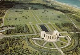 14 Omaha Beach Saint Laurent Sur Mer Le Cimetière Américain (Scan Recto Verso) - Monuments Aux Morts