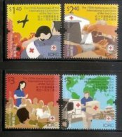 2013 HONG KONG 150th Red Cross Committee Stamps Plane Medicine Car Education Map - 1997-... Chinese Admnistrative Region