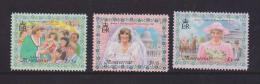 Montserrat 1998 Princess Diana Set 3 MNH - Montserrat