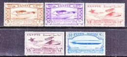 EGYPT  172-6  *   AERO  ZEPPELIN - Egypt