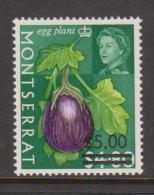 Montserrat 1968 $ 5 Surcharge On $4.80  Fruit Definitive MNH - Montserrat